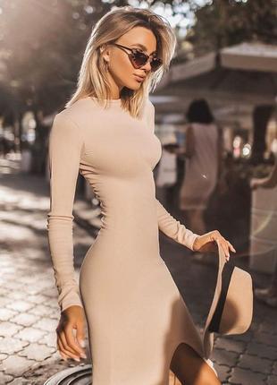 Платье денское на осень прогулочное трикотаж