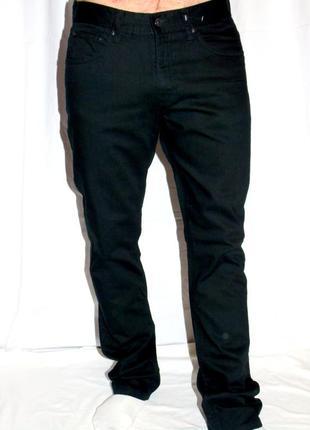 H & m шикарные чёрные джинсы - 32 размер