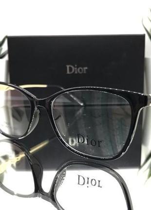 Модная оправа под замену линз dior 9388
