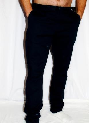 H & m шикарные черные штаны - джинсы - 54 размер