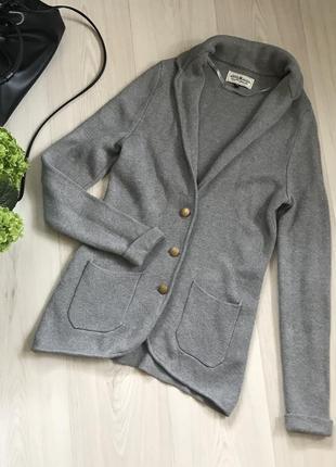 Стильный вязаный пиджак свитер hampton republic размер s/m