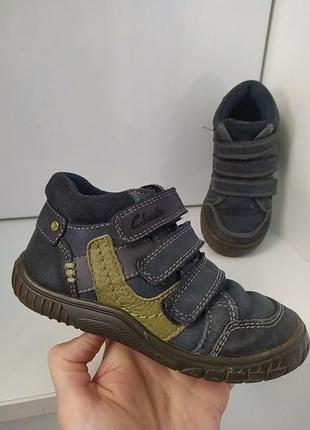 Кожаные деми ботиночки 15.5-16 см