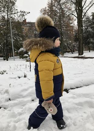 Торг зимний комбинезон+шапка+сапоги на 2-3 года