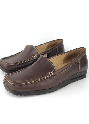 Лоферы bally originals,  туфли кожаные оригинал made in itali