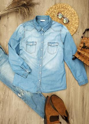 Актуальна джинсова сорочка yessica