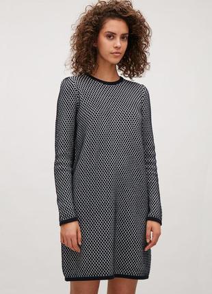 "Трикотажное платье ""cos"", размер s."