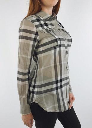 Burberry london women check nova shirt рубашка женская