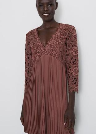 Платье zara