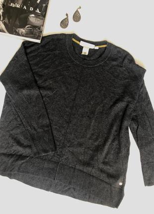 Актуальный  свитер со спущенным плечевым швом в стиле oversize от h&m