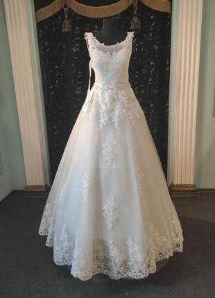 """Свадебное платье """"блеск"""""""