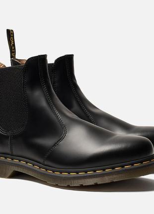 Ботинки челси dr.martens chelsea black smooth оригинал1 фото