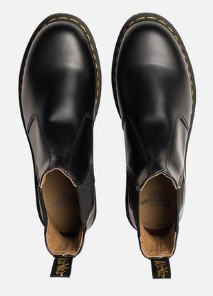 Ботинки челси dr.martens chelsea black smooth оригинал5 фото