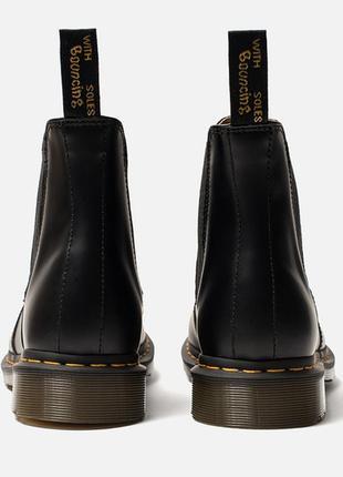 Ботинки челси dr.martens chelsea black smooth оригинал4 фото