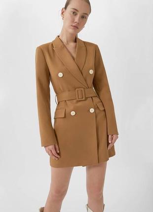 Стильное платье пиджак