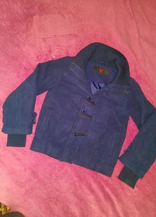 Демисезонное пальто утепленное