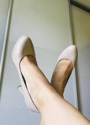 Туфлі лодочки на каблуку