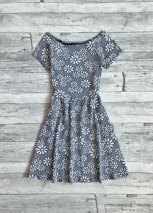 Цветочное платье topshop