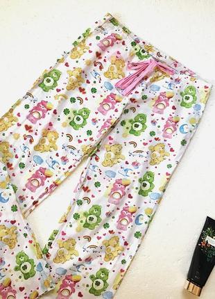 Класснючие спальные штаны в милый принт oysho