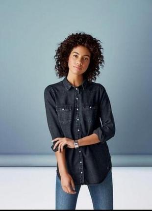 Женская джинсовая рубашка esmara