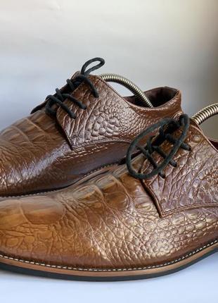 Туфли из крокодиловой кожи обмен