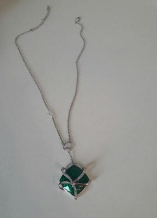 Серебрянный кулон zarina с эмалью