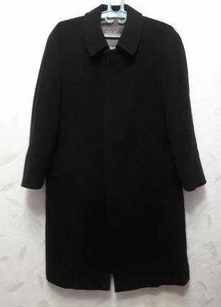 Шикарное пальто от bugatti, 54-56-58?, шерсть, полиамид, кашемир, германия