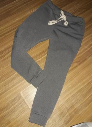 Спортивные брюки,флис,на манжете