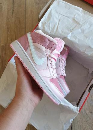 Nike air jordan 1 mid digital pink