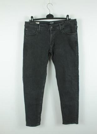 Стильные зауженные джинсы jack&jones glenn org crop jos 189 slim fit jeans
