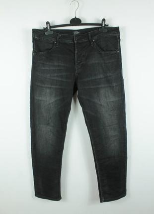 Стильные зауженные джинсы jack&jones mike dash comfort fit jeans