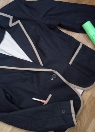 Стильный льняной пиджак next