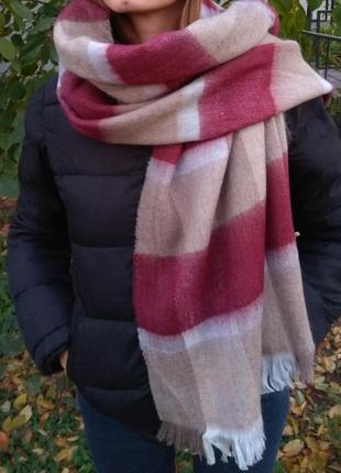Новый мягкий теплый шарф