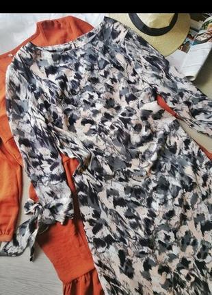 Красивое платье свободного фасона