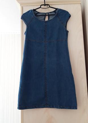 Джинсове плаття сарафан