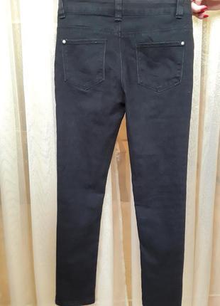 Стрейчевые черные джинсы denim co