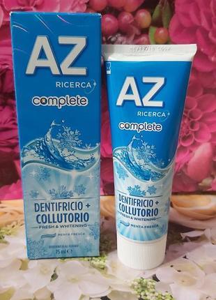 Зубная паста az complete комплексная защита