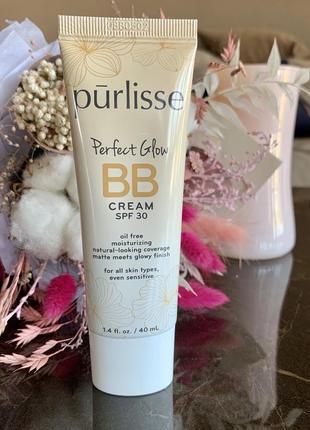 Bb крем purlisse perfect glow bb cream spf 30, цвет light