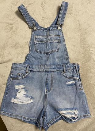 Продам джинсовый комбенизон