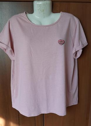Домашняя пижамная футболка размера 52-54 .