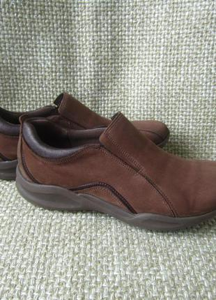 Мокасини туфлі шкіра clarks розмір 40