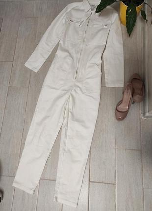 Шикарный стрейчевый (джинс) комбинезон франция