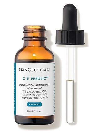 Высокоэффективное антиоксидантное средство skinceuticals ce ferulic 30 мл