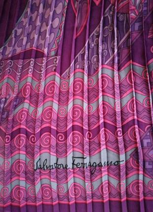 Шёлковый шарф платок ferragamo