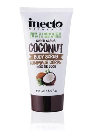 Разглаживающий скраб для тела inecto naturals coconut body scrub
