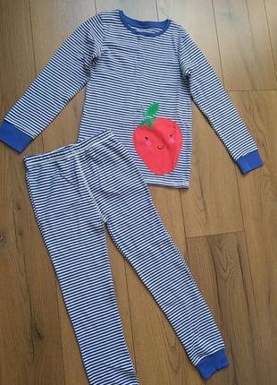 Пижама next для девочки 7-8 лет (122-128 см)