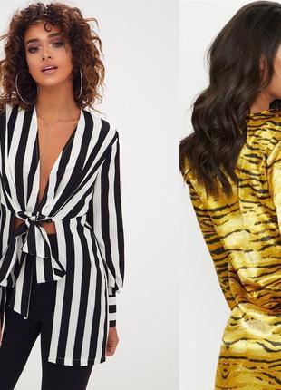 Блузка, блуза, рубашка леопардовая, тигровая