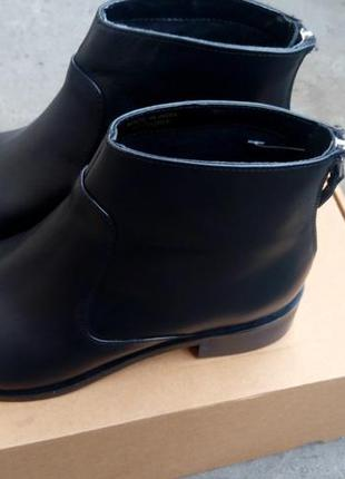 Ботинки челси сапоги кожаные top shop 38 размер