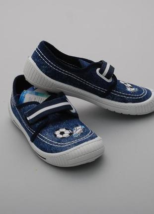 Кеды кроссовки мокасины слипоны джинс брендовая обувь md польша 32