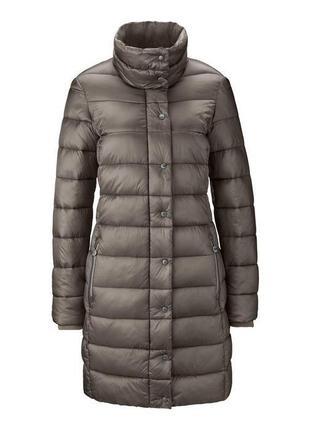 Удлиненное стеганое пальто от тсм tchibo (германия), 38 евро