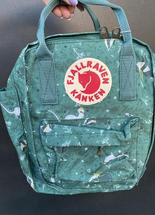 Рюкзак kanken mini зеленый